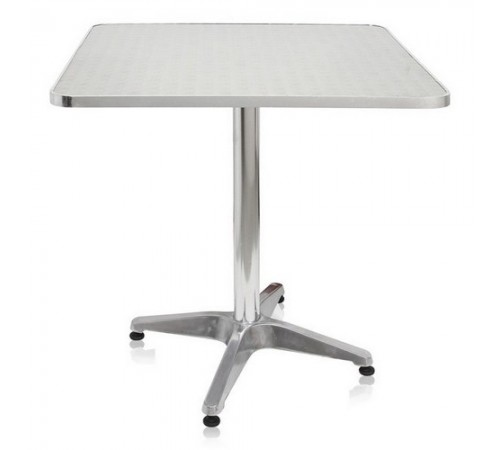 Стол LFT-3126-70х70 Silver