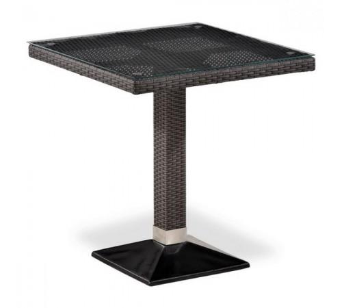 Плетеный стол T505SWT-W2390-70х70 Brown