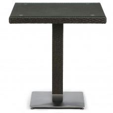 Плетеный стол T605SWT-W53-70x70 Brown
