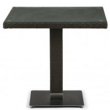 Плетеный стол T606SWT-W53-80x80 Brown