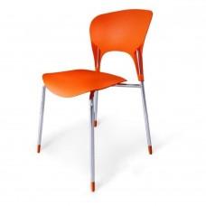Стул пластиковый SHF-003-O Orange