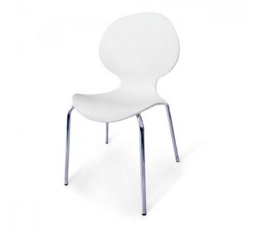 Стул пластиковый SHF-008-W White