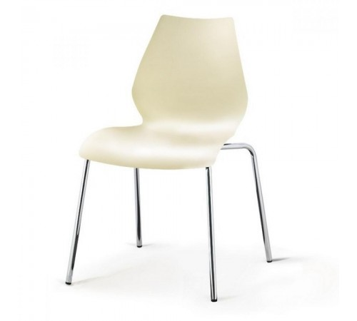Стул пластиковый SHF-01-W White