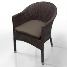 Плетеное кресло WS2907B Brown