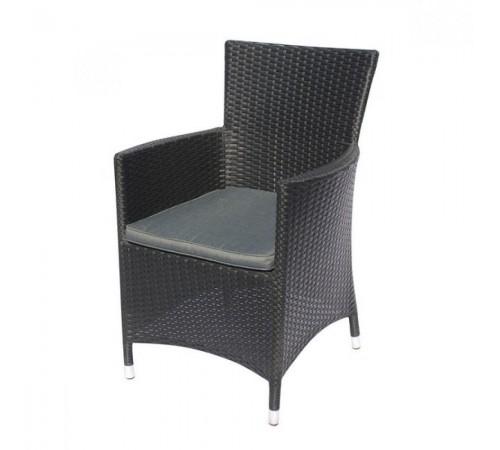 Плетеное кресло Y189D Black
