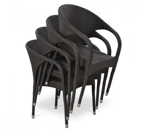 Плетеное кресло Y290B-W52 Brown