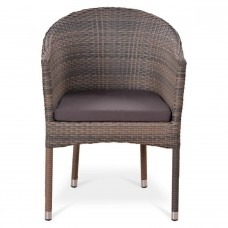 Плетеное кресло Y350G-W1289 Pale