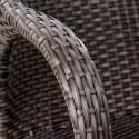 Плетеное кресло Y90C-W2390 Brown