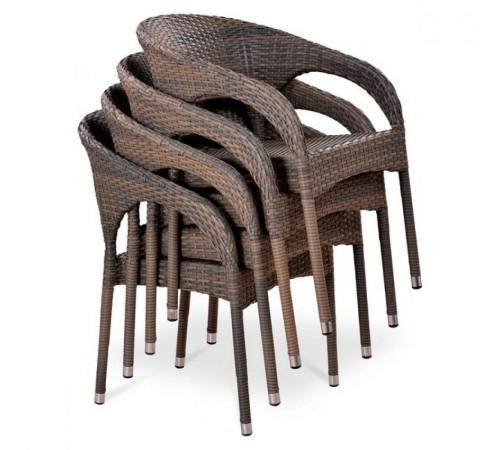 Плетеное кресло Y90CG-W1289 Pale