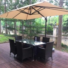 Зонт для кафе AFM-2.4x3.3-Beige